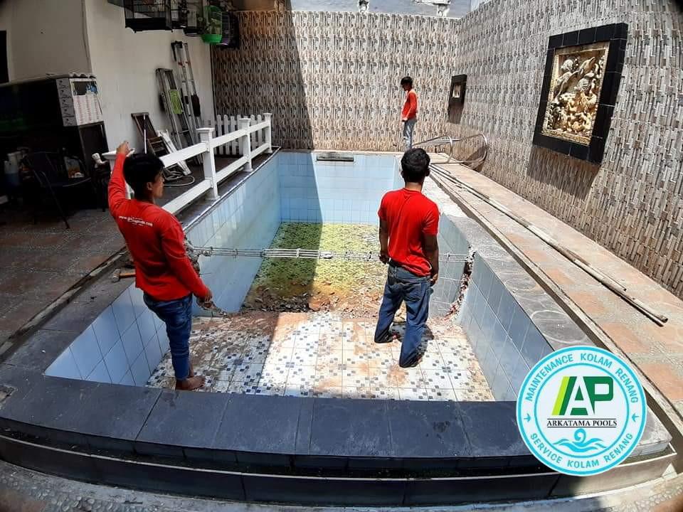 jasa pembuatan kolam renang cilandak